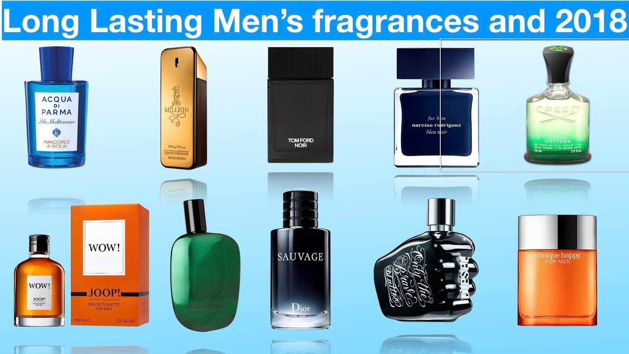 5 perfume for men lasts the longest?
