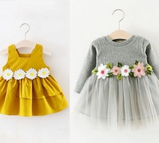 Minor Changes in Dresses Can Make Your Baby Girl More Pretty